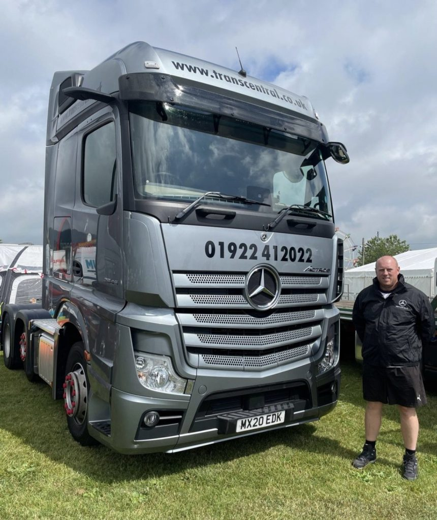 MHSC attend Truckfest thanks to client invitation
